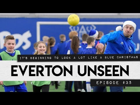 BLUES SURPRISE JUNIOR FANS FOR CHRISTMAS | EVERTON UNSEEN #35