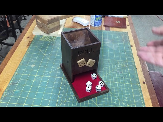 Dice Tower Scroll Saw Project