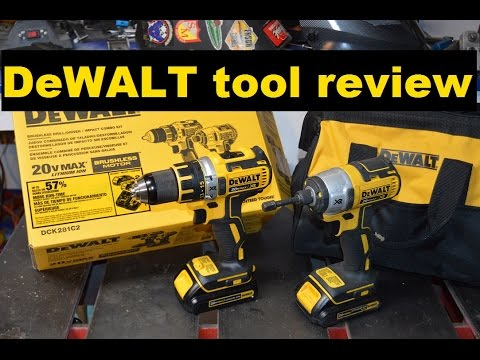 DeWALT drill/driver-impact combo review