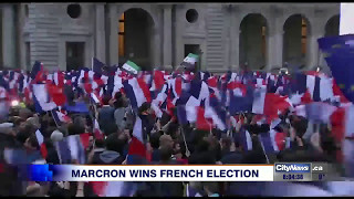 Macron wins French presidency, Europe breathes sigh of relief
