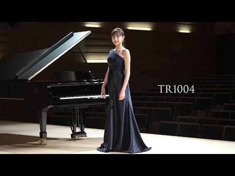 【荒井里桜コラボドレス】 TWEED DRESS × RIO ARAI ARTIST Collaboration 【TR1004】
