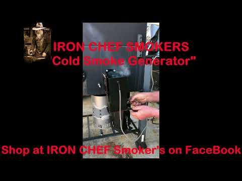 Iron Chef Smokers- a cold smoke generator