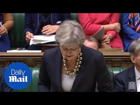 Theresa May confirms transition period has to be done by 2022