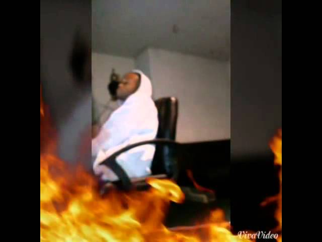 """Tw1zzy in the studio working on """"Soulayye"""" track"""