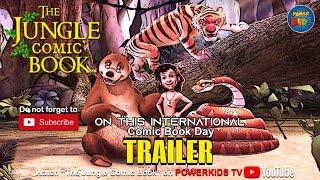 The Jungle Comic Book   International Comic Book Day Special   Trailer   PowerkidsTV