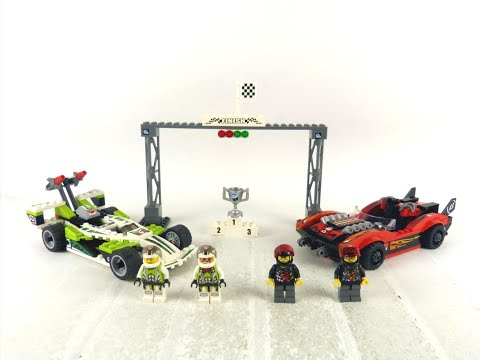 LEGO World Racers - Wreckage Road - REVIEW! - Set: 8898!