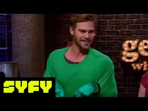 GEEKS WHO DRINK Spoilers  Grey Damon vs. Josh Brener in Jurrasic Quarters  SYFY
