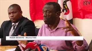 EMISANGO KU B'EBY'OBUFUZI: Dr. Besigye ayambalidde gavumenti