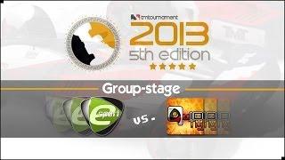TmT 2013: Team Acer vs. QuiD - cast by frostBeule