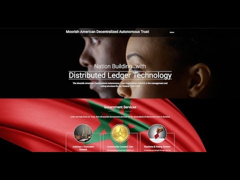 Moorish American - Blockchain - Distributed Ledger Technology