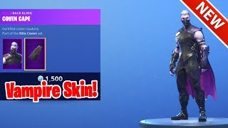 * NUEVO * VAMPIRE SKIN SANCTUM! [ITEM SHOP OCT 18] FORTNITE BATTLE ROYALE