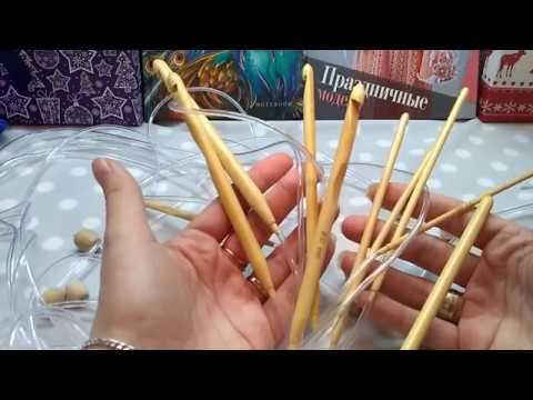 Крючки для тунисского вязания с Aliexpress (Обзор)