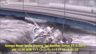 Misteri Tanda Tuhan DiBalik Dahsyatnya Tsunami Jepang 11-3-11