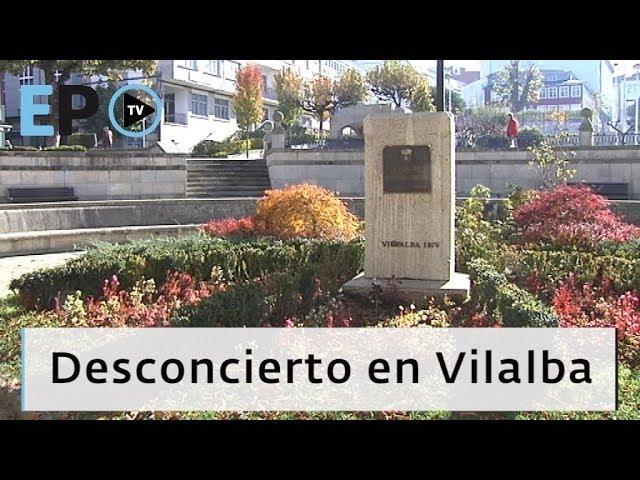 El Progreso TV ► Desconcierto en Vilalba por la desaparición del busto de Fraga