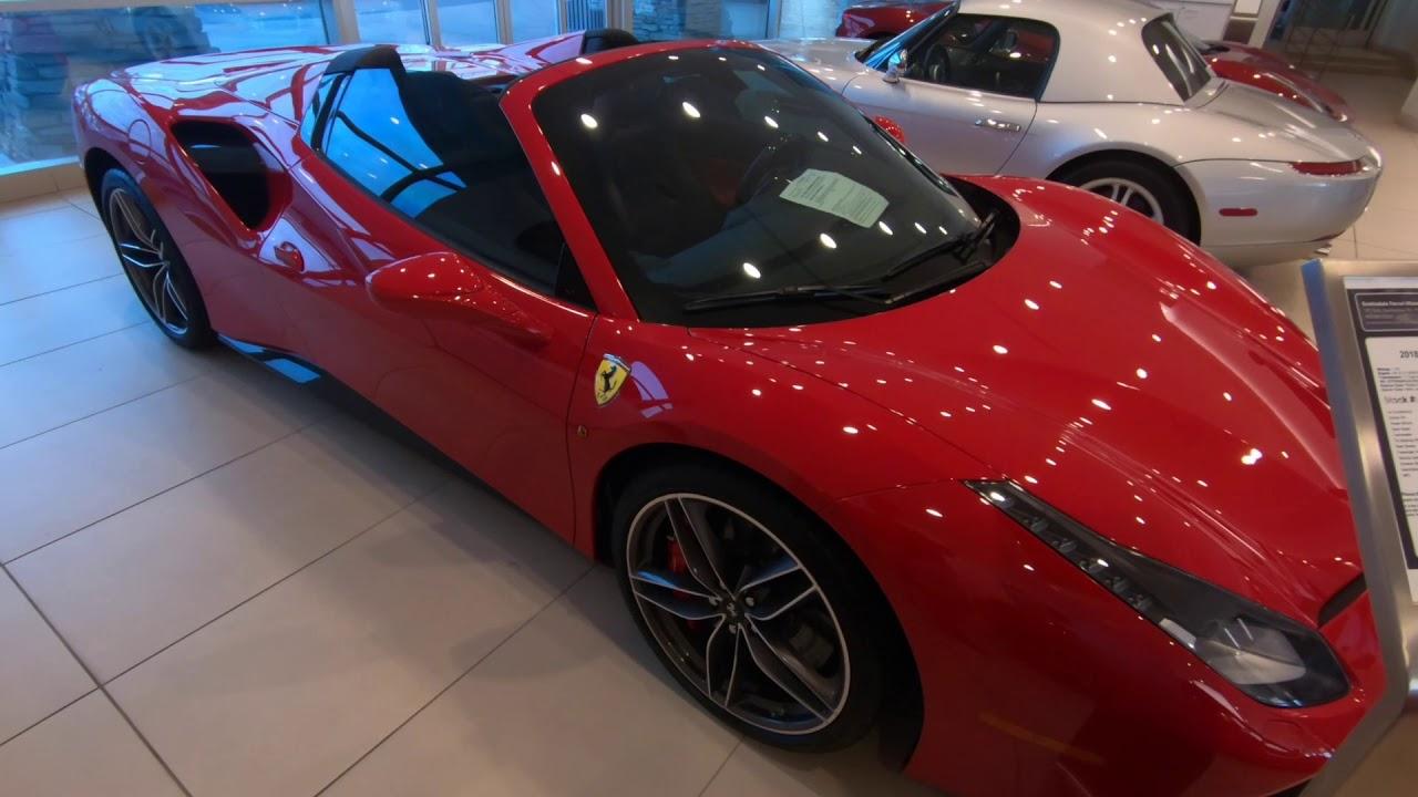 Ferrari 488 Spider A Brief Ferrari Tour At Ferrari North Scottsdale Az Youtube