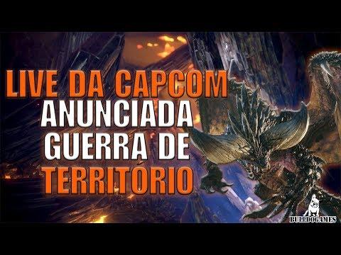 Monster Hunter World - LIVE OFICIAL DA CAPCOM ANUNCIANDO A GUERRA DE TERRITÓRIO! - 15 ANOS! thumbnail