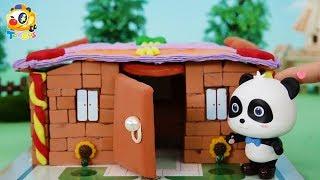 키키가 집을 지어요!|무서운 악어가 집을 공격해요!|토이버스 장난감이야기|Kids Toys | Baby Doll Play | ToyBus