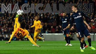 Lionel Messi - The 10 Most Incredible Attempts to Score a Goal - HD