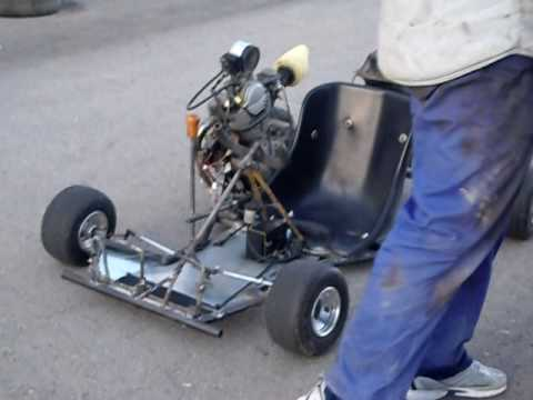 Kart casero motor yamaha sr 250 2 youtube for Where can i get a motor vehicle report