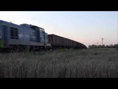 SM42-505 z towarowym 29.07.2010 Chorzelów