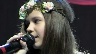 01188 Vocal Daria Lebedeva Конкурс Вокал Дети Дарья Лебедева Белый конь Роза ветров