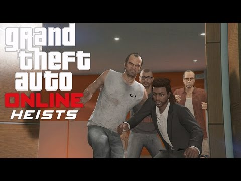 GTA 5 Online PS4 Multiplayer Gameplay - GTA 5 Heist - Series