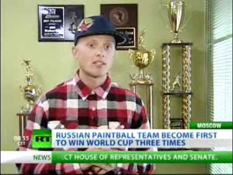 Russian Legion Paintball Team in the News