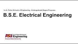 Fulton Degree Webinar: Electrical Engineering