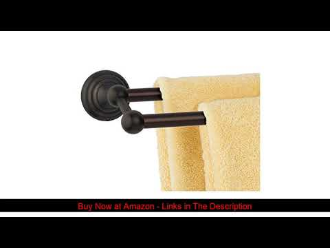 """▶️-dynasty-hardware-7516-orb-bel-air-24""""-double-towel-bar-oil-rubbed-bronze"""