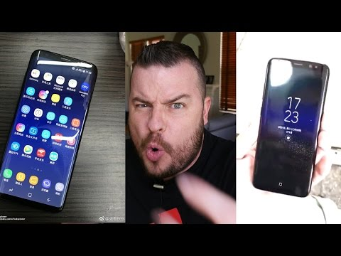 Samsung Galaxy S8 High Res Video & Photos LEAKED!! | Galaxy S8 Orchid Gray & Black Sky Photos LEAKED