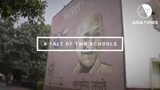Comparison of Govt School between Delhi & UP