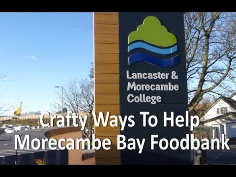 Morecambe Bay Foodbank Crafty Ways To Help Thanks To Karen Ann At Lmc