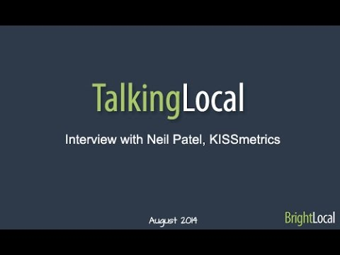 TalkingLocal – Interview with Neil Patel