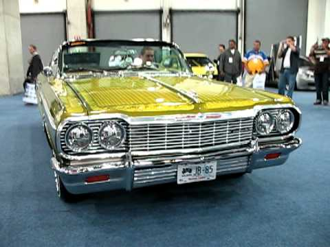 impala 64 convertible lowrider - YouTube