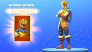 (BATTLE HOUND SKIN IS BACK!) NEW ITEM SHOP UPDATE! Fortnite Battle Royale
