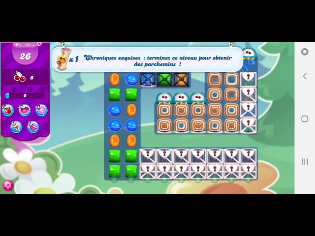 Candy Crush Saga niveau 4975