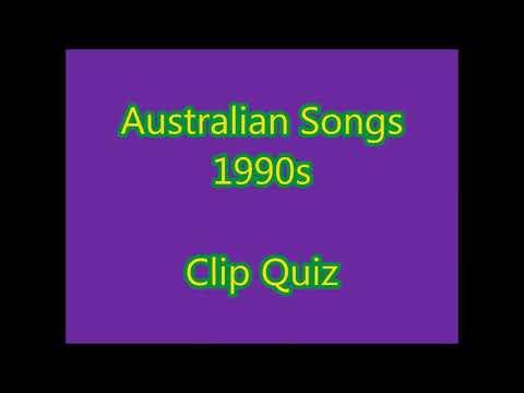 1990s Australian Music Clips