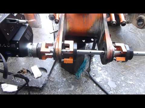 portable line bore machine
