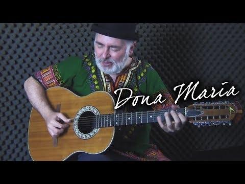 Dona Maria - Thiago Brava Ft. Jorge (Resposta) - violao acustico - fingerstyle guitar cover
