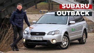 обзор б/у Subaru Outback  BIG Test Субару Аутбек 3 поколения