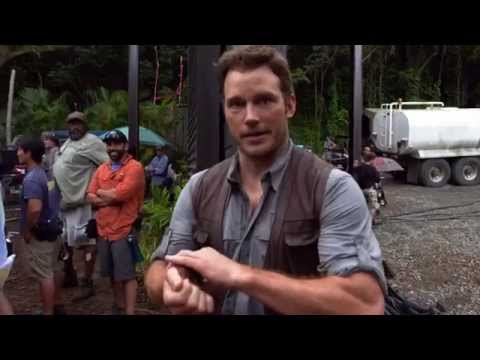 Jurassic World - Chris Pratt - Stunts 101 (Universal Pictures)