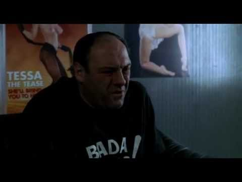 The Sopranos - Tony At The Bada Bing