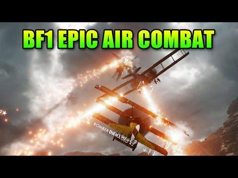 Battlefield 1 Epic Air Combat   BF1 Beta Gameplay