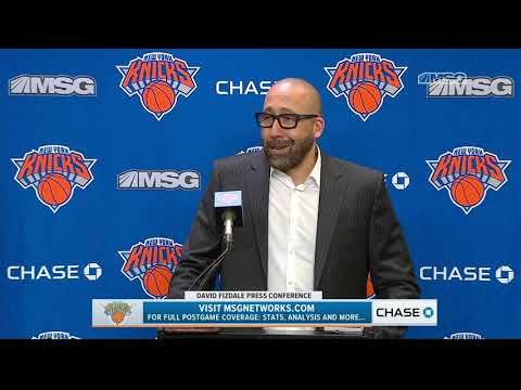 David Fizdale: Just a Matter Time For Knox to Find His Rhythm | New York Knicks | MSG Networks