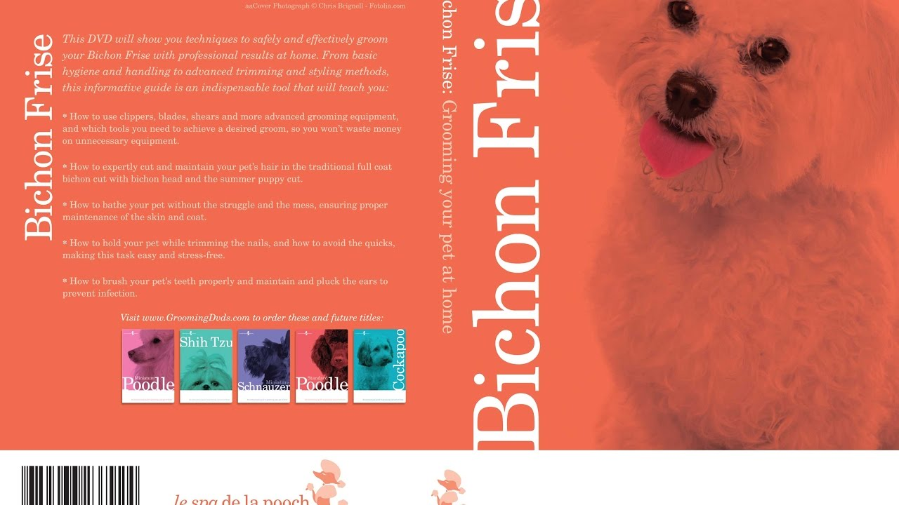 Bichon Frise Dog Grooming Instructional How To Video And Equipment
