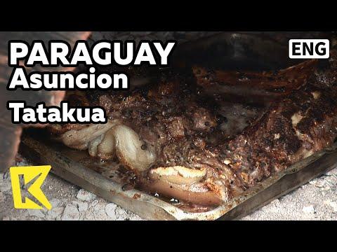 【K】Paraguay Travel-Asuncion[파라과이 여행-아순시온]타타쿠아, 전통 화덕 요리/Tatakua/Farm/Meat/Fire pit cooking