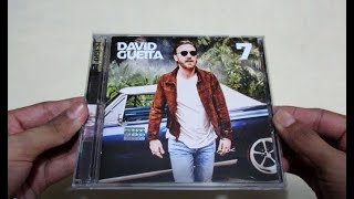 David Guetta - 7 ( 2 CD's ) - Unboxing CD en Español