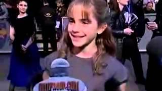 Эмма Уотсон на премьере фильма 'Гарри Поттер и Философский Камень' 2001 год
