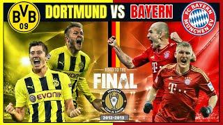 ❤️? BAYERN MUNICH Campeón de la CHAMPIONS LEAGUE (2013) ??? La FINAL Alemana
