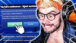 I AM DO REMBOURSE3 TIMES THE MEME SKINS ON FORTNITE BATTLE ROYALE !!!